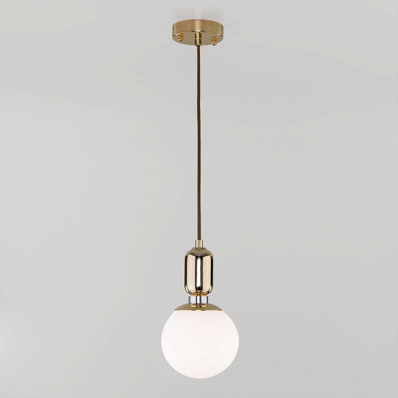 Подвесной светильник Eurosvet Bubble 50151/1 золото