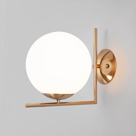 Настенно-потолочный светильник Eurosvet Frost 70153/1 Латунь