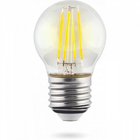 Лампа светодиодная Voltega Crystal E27 2800К 7138