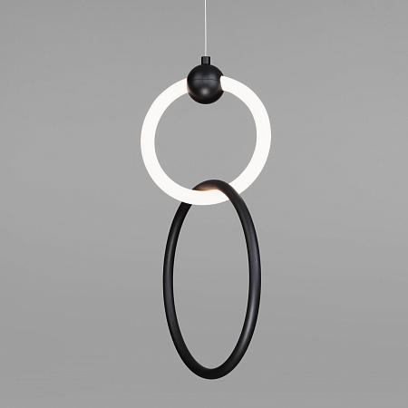 Подвесной светильник Eurosvet Rim 90166/2 черный