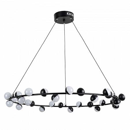 Подвесная светодиодная люстра Arte Lamp Dexter A3619SP-30BK