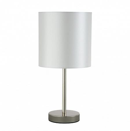 Настольная лампа Crystal Lux Sergio LG1 Nickel
