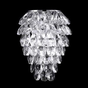 Настенный светильник Crystal Lux Charme AP3 Chrome/Transparent