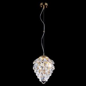 Подвесной светильник Crystal Lux Charme SP2 Gold/Transparent