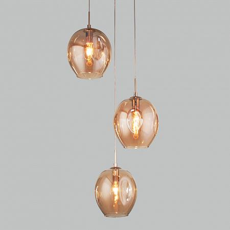 Подвесной светильник Eurosvet Mill 50195/3 золото