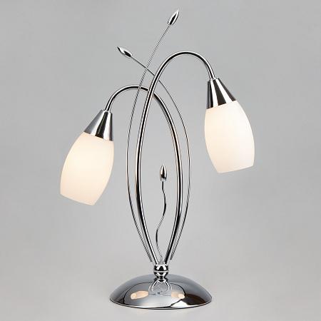 Настольная лампа Eurosvet 22080/2T хром
