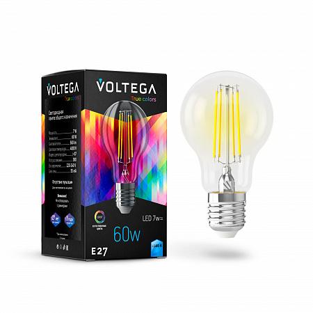 Лампа светодиодная Voltega General purpose bulb E27 7W High CRI 7155