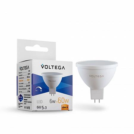 Лампа светодиодная диммируемая Voltega Sofit GU5.3 7170