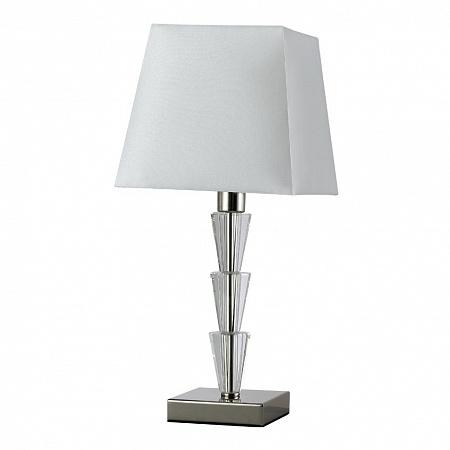 Настольная лампа Crystal Lux MARSELA LG1 NICKEL