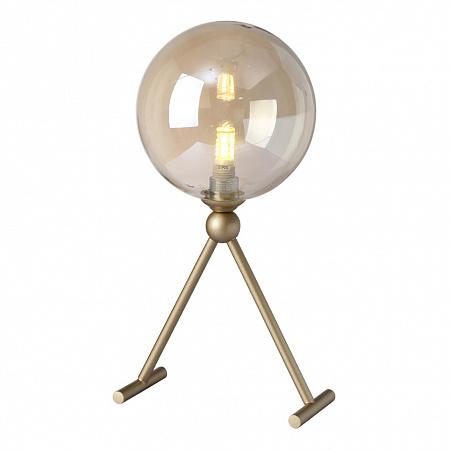 Настольная лампа Crystal Lux FRANCISCA LG1 GOLD/COGNAC