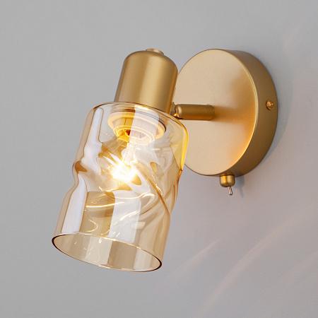 Спот Eurosvet Ansa 20120/1 перламутровое золото