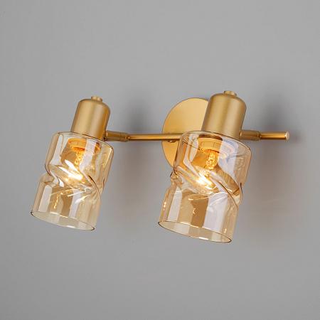 Спот Eurosvet Ansa 20120/2 перламутровое золото