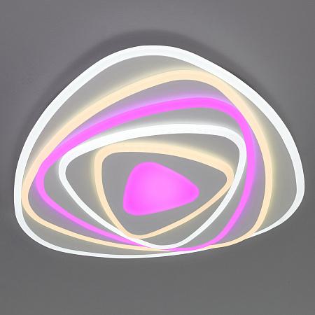 Потолочный светодиодный светильник Eurosvet Coloris 90225/1 белый