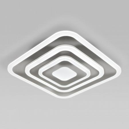 Потолочный светодиодный светильник Eurosvet Siluet 90118/1 хром