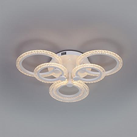 Потолочная светодиодная люстра Eurosvet Garden 90228/6 белый