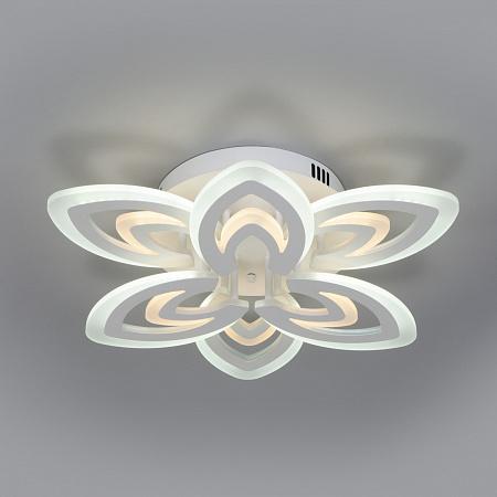 Потолочная светодиодная люстра Eurosvet Floritta 90227/6 белый
