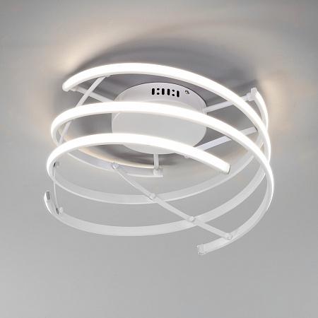 Потолочный светодиодный светильник Eurosvet Breeze 90229/3 белый