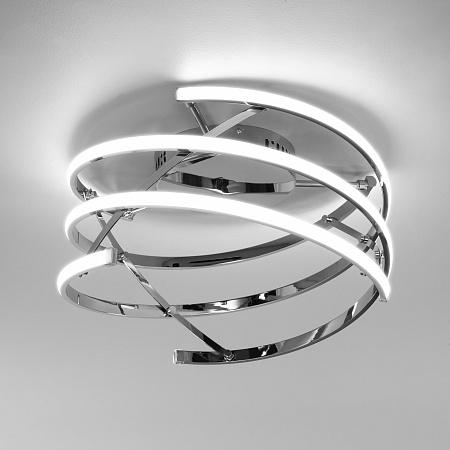 Потолочный светодиодный светильник Eurosvet Breeze 90229/3 хром