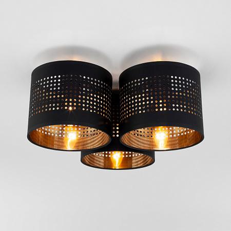 Потолочная люстра TK Lighting 851 Tago Black