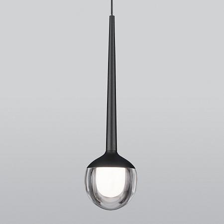 Подвесной светодиодный светильник Elektrostandard DLS028 черный