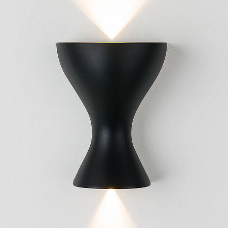 Настенный светодиодный светильник Elektrostandard Eos MRL LED 1021 черный