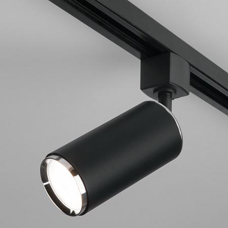 Трековый светильник Elektrostandard Svit MRL 1013 черный/хром