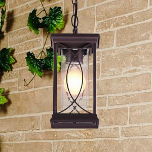 Уличный подвесной светильник Elektrostandard Spica GL 1026H кофе