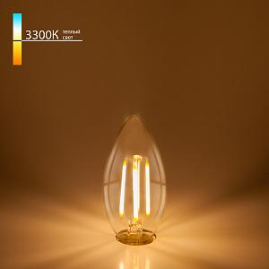 Лампа светодиодная филаментная E14 Elektrostandard BLE1409