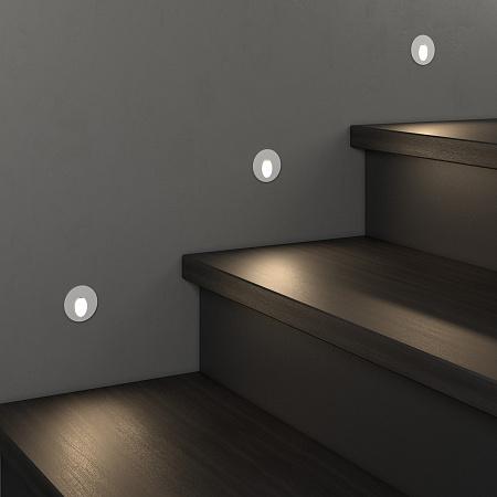 Встраиваемый светодиодный светильник Elektrostandard MRL LED 1101 белый