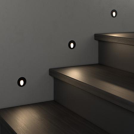 Встраиваемый светодиодный светильник Elektrostandard MRL LED 1101 черный