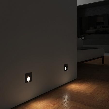 Встраиваемый светодиодный светильник Elektrostandard MRL LED 1102 черный