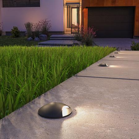 Встраиваемый светодиодный светильник Elektrostandard MRL LED 1104 черный