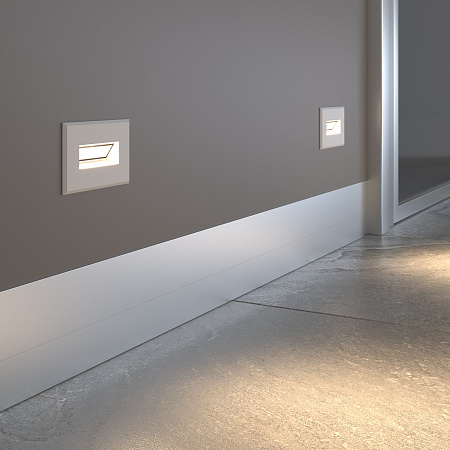 Встраиваемый светодиодный светильник Elektrostandard MRL LED 1109 белый