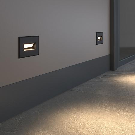 Встраиваемый светодиодный светильник Elektrostandard MRL LED 1109 черный