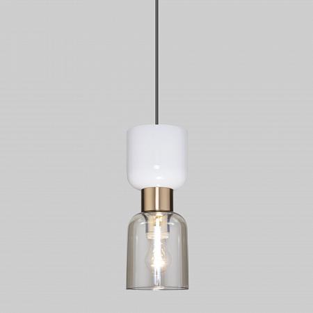 Подвесной светильник Eurosvet Tandem 50118/1 латунь