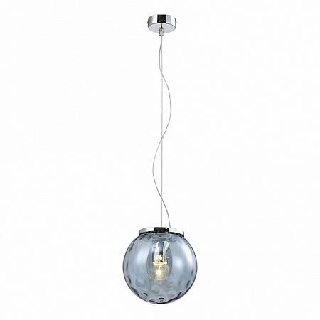 Подвесной светильник Crystal Lux MAYO SP1 D200 CHROME/BLUE