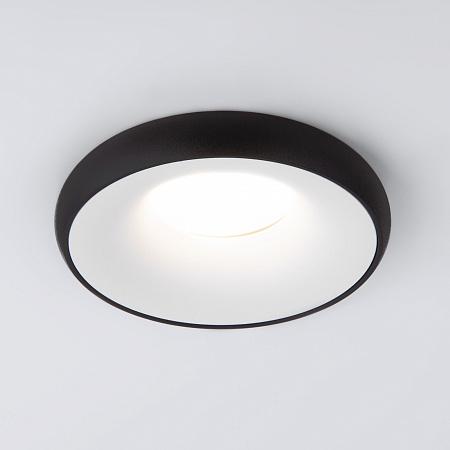 Встраиваемый светильник Elektrostandard 118 MR16 белый/черный