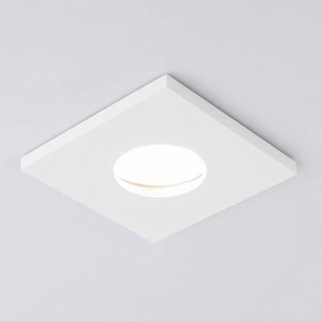 Встраиваемый светильник Elektrostandard 126 MR16 белый матовый