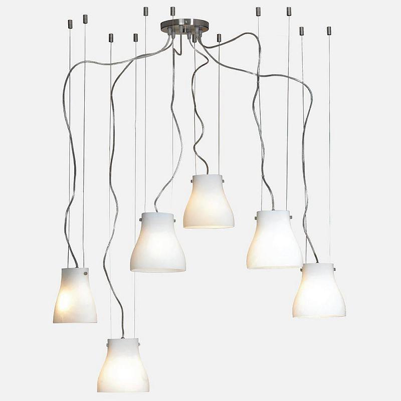 Подвесная люстра Lussole Bianco LSC-5603-06