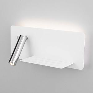 Бра с выключателем Elektrostandard Fant R LED белый/хром MRL LED 1113