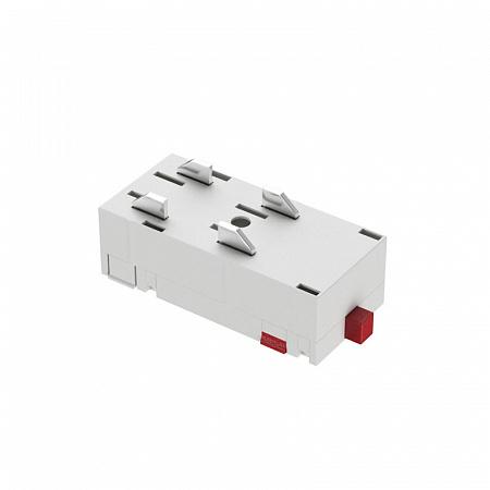 Прямой соединитель для шинопровода Denkirs Smart TR2101-WH