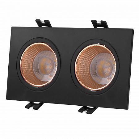 Встраиваемый светильник Denkirs DK3022 DK3072-BBR
