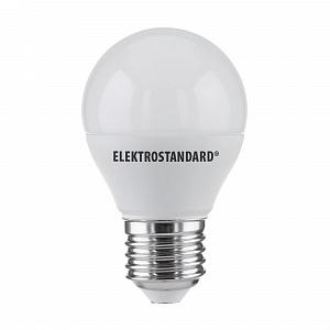 Лампа светодиодная Elektrostandard E27 7W 3300K матовая  BLE2730