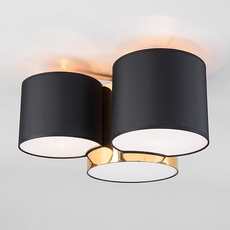 Потолочный светильник TK Lighting Mona 3445 Mona Black/Gold