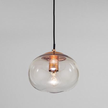 Подвесной светильник Eurosvet Rock 50212/1 янтарный