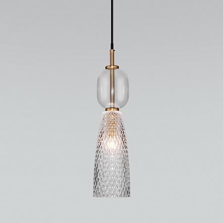 Подвесной светильник Eurosvet Glossy 50211/1 прозрачный