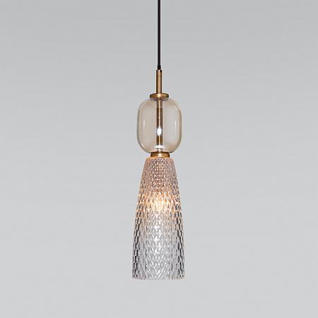 Подвесной светильник Eurosvet Glossy 50211/1 янтарный