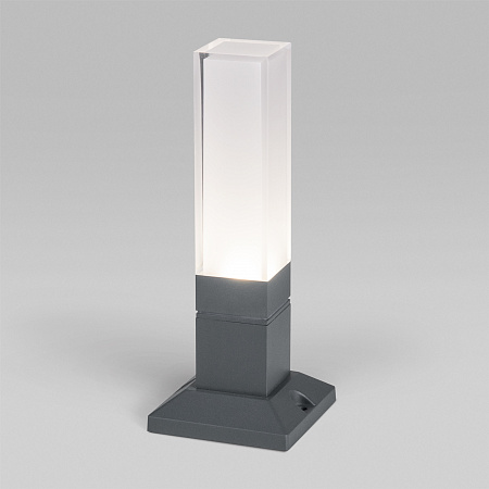 Уличный ландшафтный светильник Elektrostandard Techno 1536 TECHNO LED серый