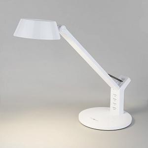 Светодиодная настольная лампа Eurosvet Slink с сенсорным управлением 80426/1 белый