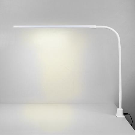 Настольная лампа на струбцине Eurosvet Flex 80429/1 белый